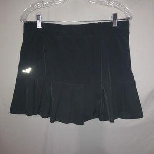 BCG Charcoal Tennis Skirt Sz M